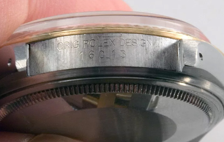 Watch model number